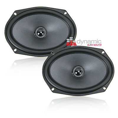 """MOREL TEMPO ULTRA 602 INTEGRA 6.5/"""" 110W RMS 2-WAY CAR COAXIAL 4 OHM SPEAKERS NEW"""