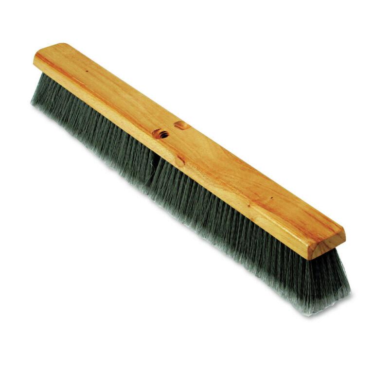 Boardwalk 20424 3 in. PP Bristle 24 in. Floor Brush Head - Gray New