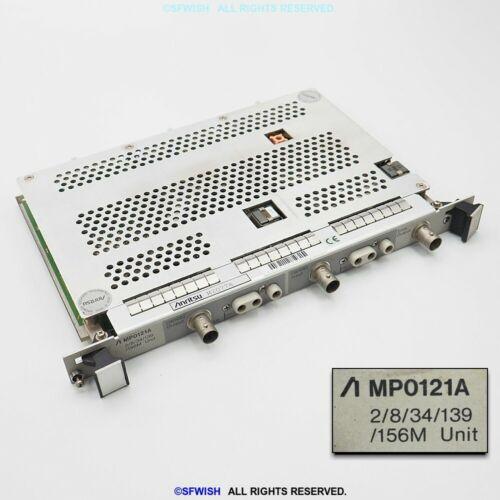 Anritsu MP0121A 2/8/34/139/156M Unit *Looks Clean!*