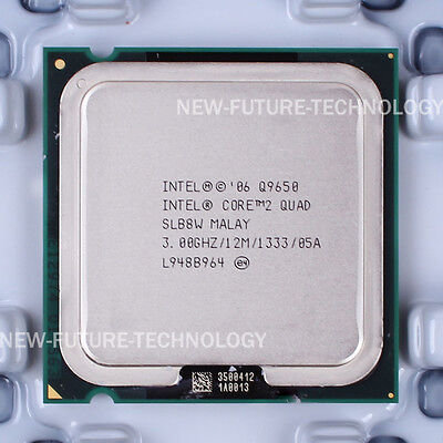 Intel Core 2 Quad Q9650 3GHz/12M/1333 Quad Core LGA 775 CPU + FREE Thermal Paste