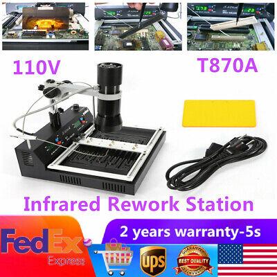 T870a Irda Welder Infrared Bga Rework Station Smd Reballing Station 1200w 110v