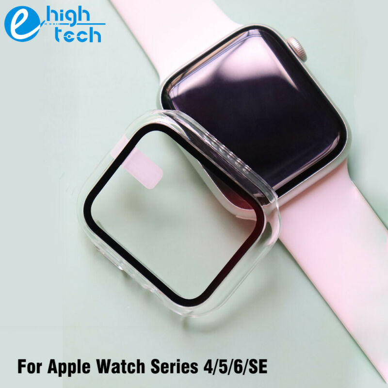 Fr iWatch Apple Watch Series 4/5/6/SE Protector Full Cover Hard Case with Screen