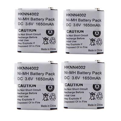 4x Nimh Kebt-071-c 56315 Battery For Motorola Ms350 Ms350...