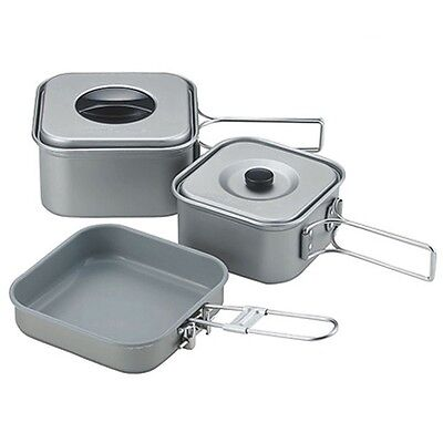 NEW UNIFLAME MOUNTAIN COOKER 3 SQUARE TYPE Camp Cooking  667705 With Tracking