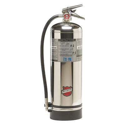 Water Unfilled Fire Extinguisher With 2.5 Gal. Capacity And 48 To 52 Sec. Discha