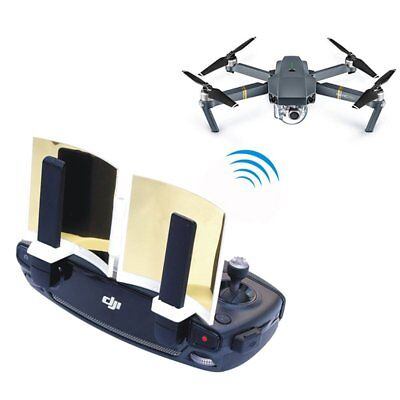 Gold Silver Antenna Range Extender Signal Booster For DJI Mavic Pro Spark Drone
