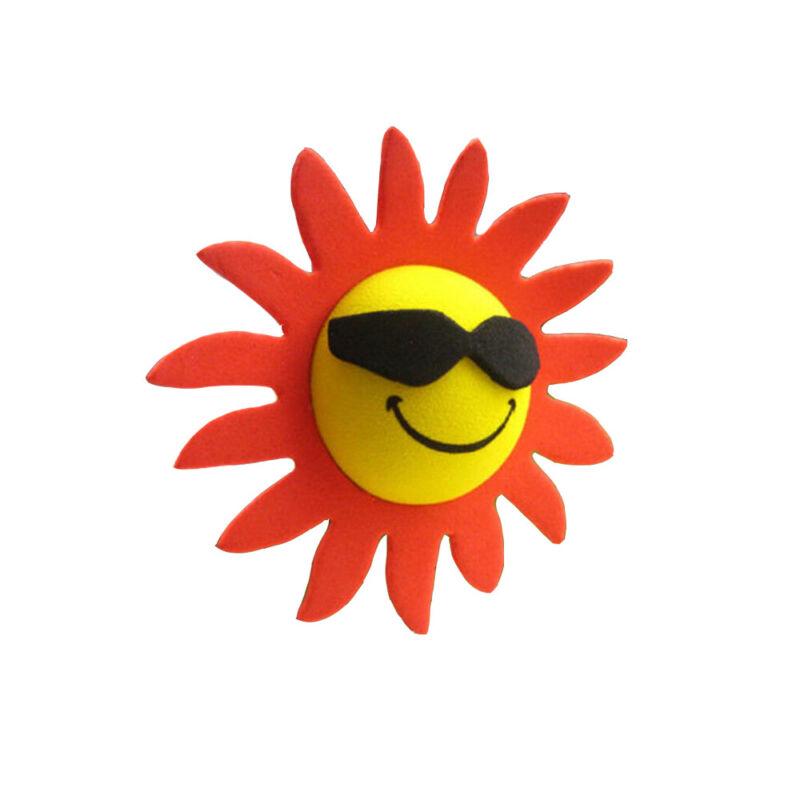 1Pc Cute Big Sunflower Antenna Ball Car Aerial Ball Antenna Topper Decor Ball
