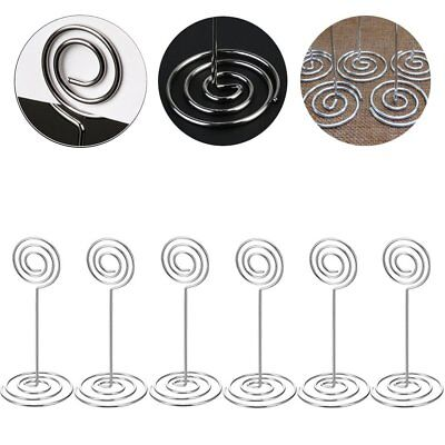 1-20ps Table Number Stands Place Card Holder Name Card Photo Clip Wedding Favors - Wedding Table Favors
