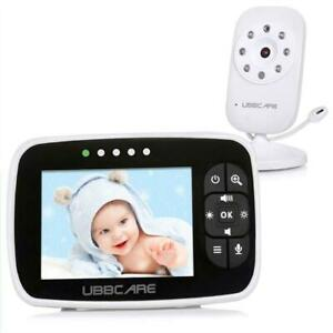 NEW Baby Monitor With Camera 3.5 Two Way Talk Audio Night Vision Video LCD Temperature System Condtion: New