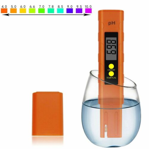 Digital PH Meter LCD Pen Accuracy 0-14 Household Drinking Water Quality Tester