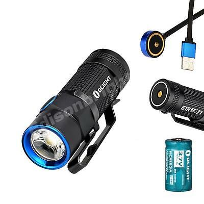 Olight S1R 900 Lumens LED EDC magnetic charging compact flashlight keychain