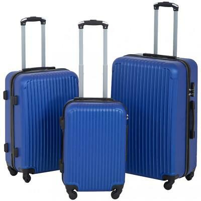 Refurbished Suitcase 3 Piece Luggage Sets Travel Carry on Expandable Lightweight