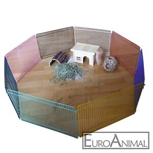 großes Freigehege Freilauf Freilaufgehege Gehege für Hamster Mäuse 10mm Gitter