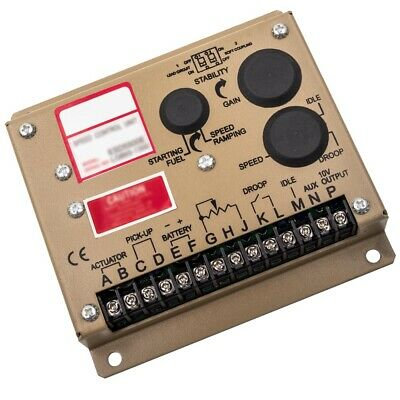Electronic Engine Speed Governor Generator Regulator Controller Esd5500e