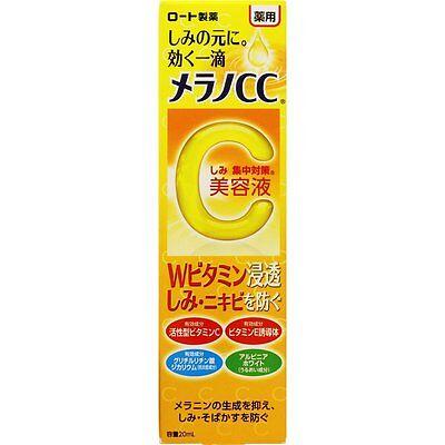 ROHTO MELANO CC Intensive Anti-Spot Essence 20mL with Vitamins C&E from Japan