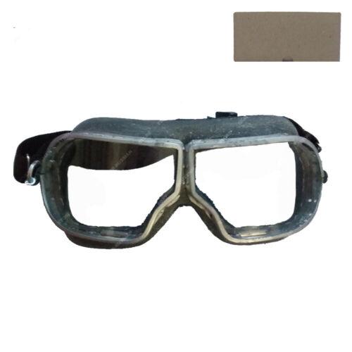 Authentic Soviet USSR Russian Pilot Tankman Aviator Goggles WW2