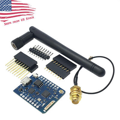 D1 Mini Pro Nodemcu Wifi Lua Esp8266 Esp-12 Wemos Microcontroller W Antenna Us