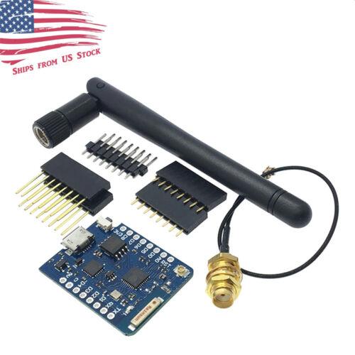 D1 Mini Pro NodeMCU WiFi LUA ESP8266 ESP-12 WeMos Microcontroller w/ Antenna US