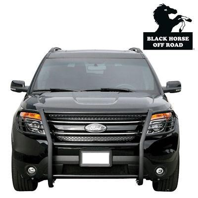 Black Horse 2016 2019 Ford Explorer Grille Brush Guard Push Bar 17FJ30MA ()