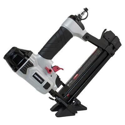 Husky Mini Flooring Nailer Stapler 1-5/8 in. Pneumatic Reload Indicator (4-in-1)