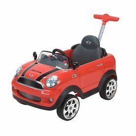 Mini Cooper push along