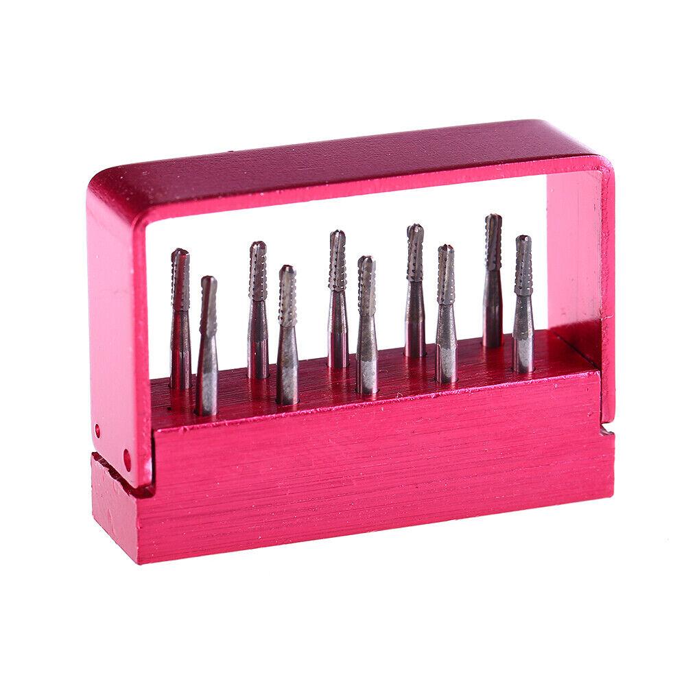 5Boxes Dental Burs Drill Tungsten Steel Carbide Bur High Speed Handpiece FG-1958