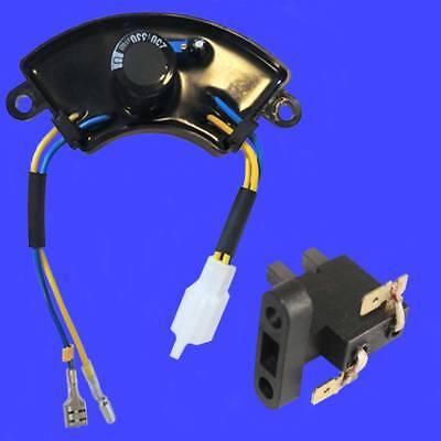 Champion Round Avr Carbon Brush For 46558 46592 St02fd-02100007 Volt Regulator