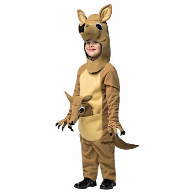 Adorable Baby Kangaroo Child Toddler Halloween Costume Jumpsuit Safari Animal (Adorable Baby Halloween Kostüme)