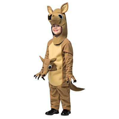 Adorable Baby Kangaroo Child Toddler Halloween Costume Jumpsuit Safari Animal - Safari Animal Halloween Costume