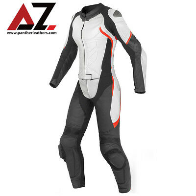 Ladies Leather Suit - NEW LADIES MOTORCYCLE LEATHER SUIT MOTORBIKE SUIT WOMEN JACKET TROUSER ALL-SIZE