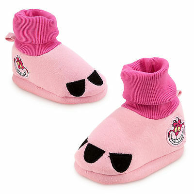 Baby Cheshire Cat Costume (Cheshire Cat Costume BABY Dress Up SHOES SLIPPERS Alice Wonderland Disney Store)