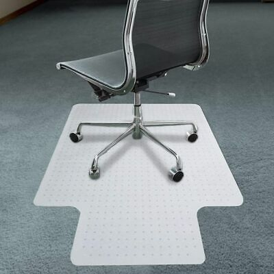 """36""""X48"""" PVC Home Office Protective Chair Mat for Rolling Chair on Carpet Floor"""