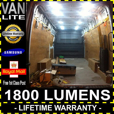 Vauxhall Vivaro Super Bright Van Interior Load LED Light Kit