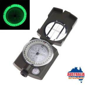 Aluminum alloy Prismatic Compass Military Geology Lensatic Epping Whittlesea Area Preview