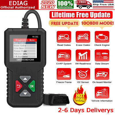Automotive OBD2 Code Reader Auto Scanner Car Check Engine Fault Diagnostic Tools