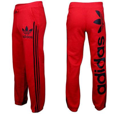 c7a66081622e0a Adidas Linear Trackpant Trefoil Trainingshose Jogginghose Sporthose  XS-XL   rot