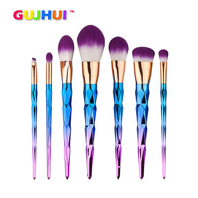 7PCS Cosmetic Makeup Brush Makeup Brush Eyeshadow Foundation Cosmetic Brush Set
