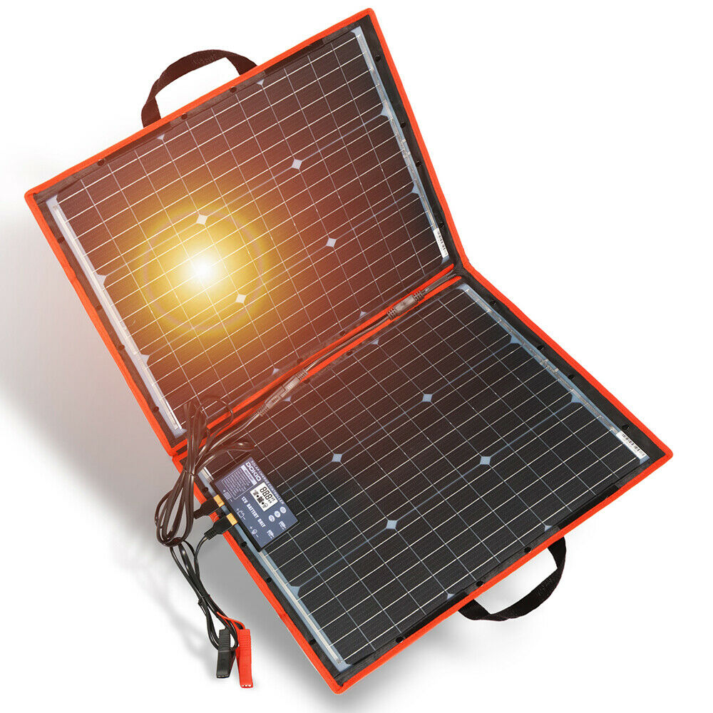 Dokio 100w 200w 300w Foldable Portable Solar Panel for RVCampingPower station