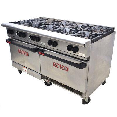 Vulcan G60ss-1db Endurance 60 10-burner 2-oven Natural Gas Restaurant Range