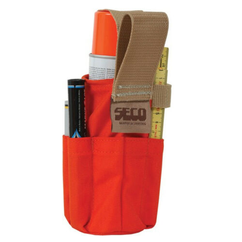 Seco 8098-10-ORG Paint Can Holster with Pockets