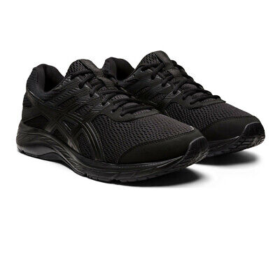 Asics Mens Gel-Contend 6 Running Shoes Trainers Sneakers - Black Sports