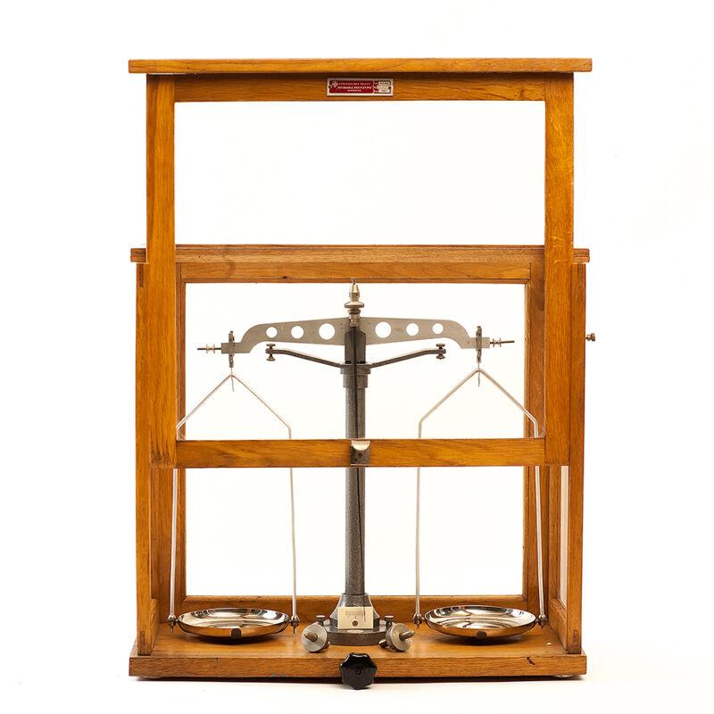 antique pharmaceutical scales