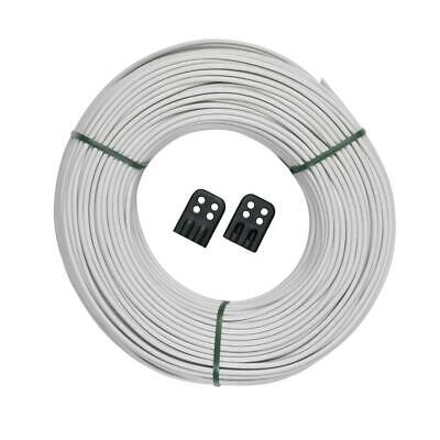 Clothesline Replacement (Brabantia Replacement Clothes Washing Line, Outdoor/Indoor, 65m with Connectors )