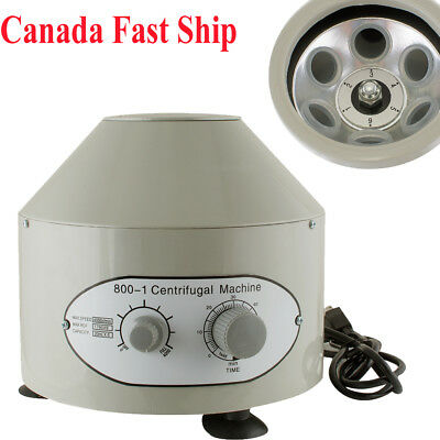Electric Centrifuge Machine 4000rpm Lab Medical Practice 25w Capacity 20 Ml X6