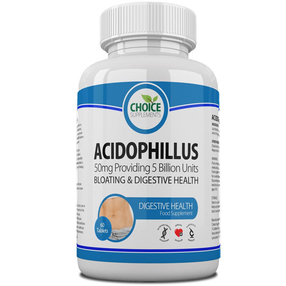 Acidophilus Lactobacillus Probiotics, Digestive Health, Candida Free UK Delivery