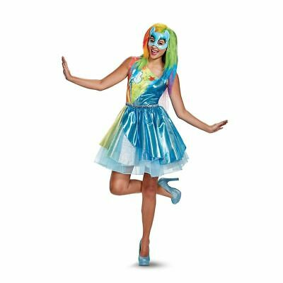 My Little Pony Movie Rainbow Dash Adult Womens Costume 22814 Disguise Small 4-6](My Little Pony Costume Adults)