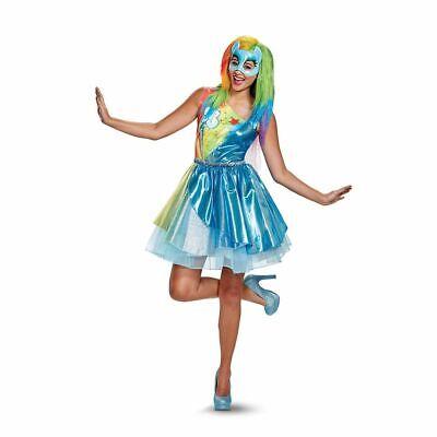 My Little Pony Movie Rainbow Dash Adult Womens Costume 22814 Disguise Small - Adult Rainbow Dash