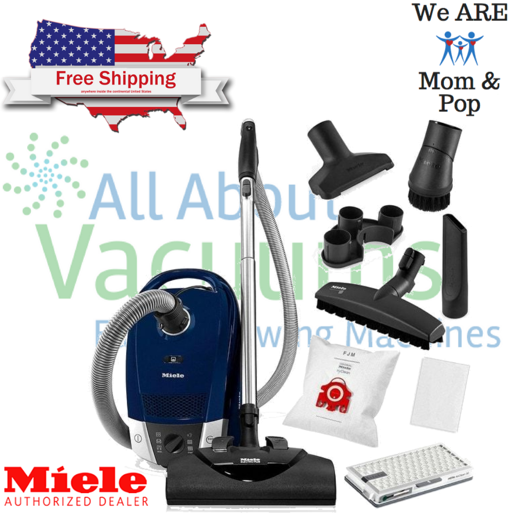 Miele Pure Suction C1 Compact Canister Vacuum Cleaner | Hard