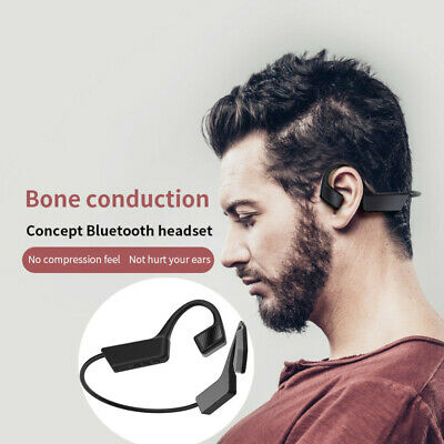 Wireless Bluetooth 5.0 Headset Bone Conduction Sport Headphone Earphone
