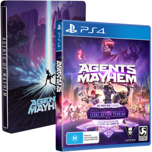 NEW & SEALED: Agents of Mayhem Steelbook Edition (PlayStation 4) Abbotsford Yarra Area Preview